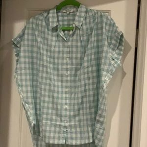 NWT Madewell Central Shirt in Brantley Plaid M